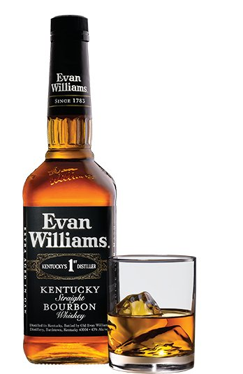Evan Williams Bourbon Black 375ml
