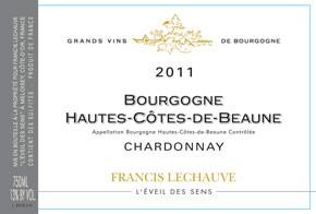 Francis Lechauve L'Eveil Des Sens Hautes Cotes de Beaune Chardonnay