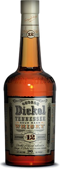 George Dickel Tennessee Sour Mash Whiskey #12 750ml