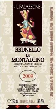 Il Palazzone Brunello Di Montalcino 2009