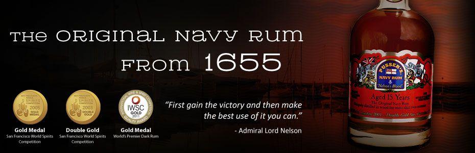 Pussers British Navy Rum 15 Year 750 ml