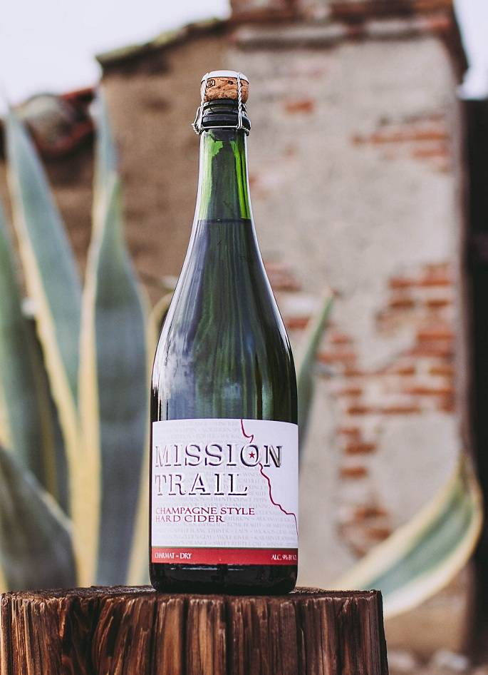 Mission Trail Champagne Style Hard Cider 750mL