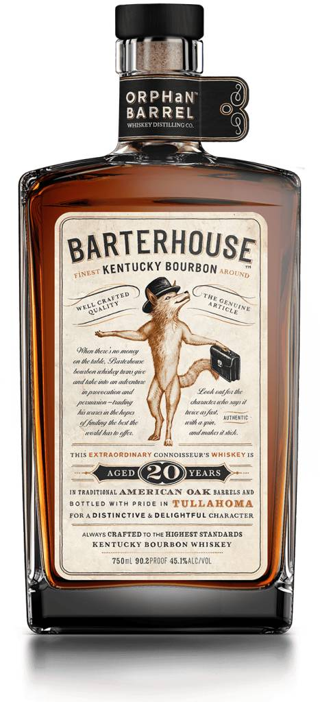 Orphan Barrel Barterhouse 20 Year Bourbon 750ml