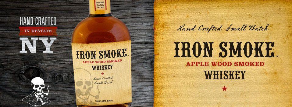 Iron Smoke Apple Wood Smoked Whiskey