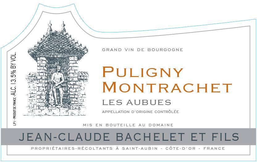 """Jean-Claude Bachelet Puligny Montrachet """"Les Aubues"""""""