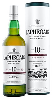 Laphroaig Scotch 10 Year Cask Strength
