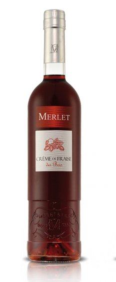 Merlet Creme De Fraise 375mL