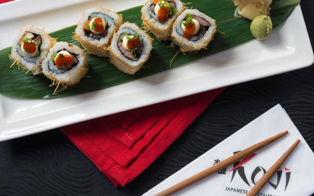 Love Sushi and Wine? Here's What to Do