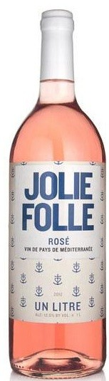Jolie Folle Rose 1L