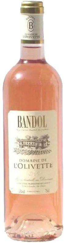 Domaine De L'Olivette Bandol Rose