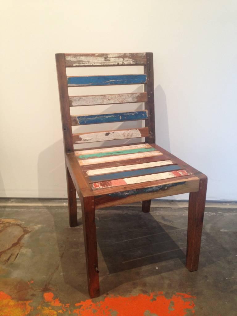 Teak Slat Chair