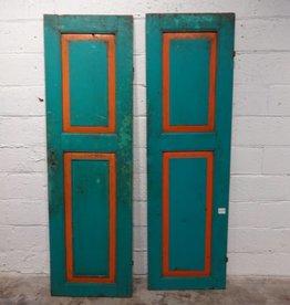 Green Indonesian Door Set