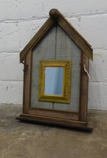 "Decorative A-Framed Mirror 18"" x 27"""