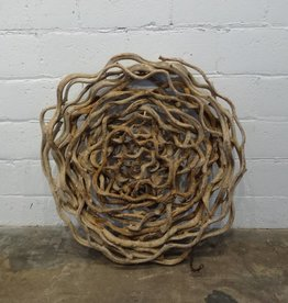 Tropical Vine Disk Sculpture
