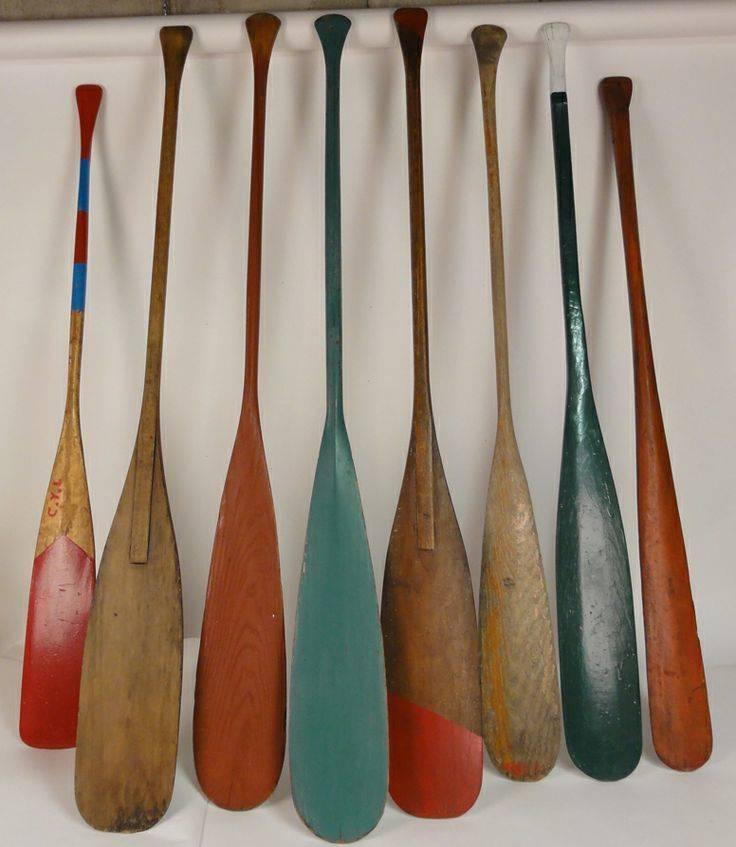 Vintage Paddle Oar