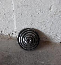 Cast Metal Large Pinwheel Pull