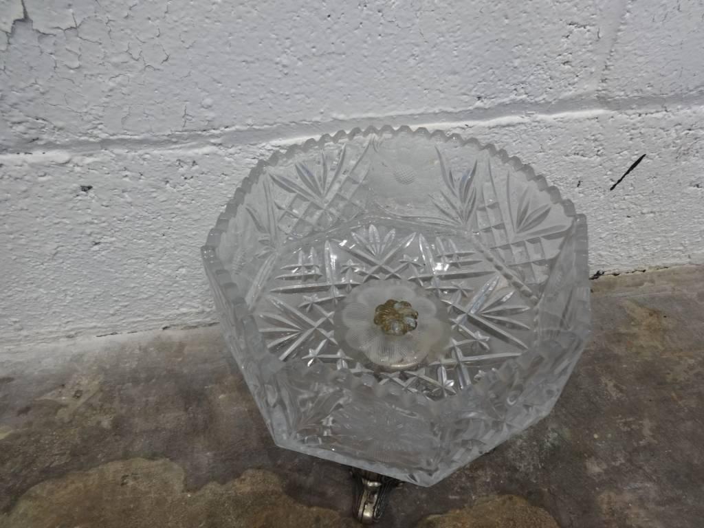 Antique Glass Dish