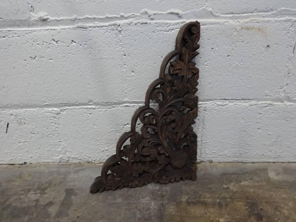 Decorative Wooden Triangular Piece