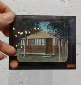 Vintage Photograph Glass Slides