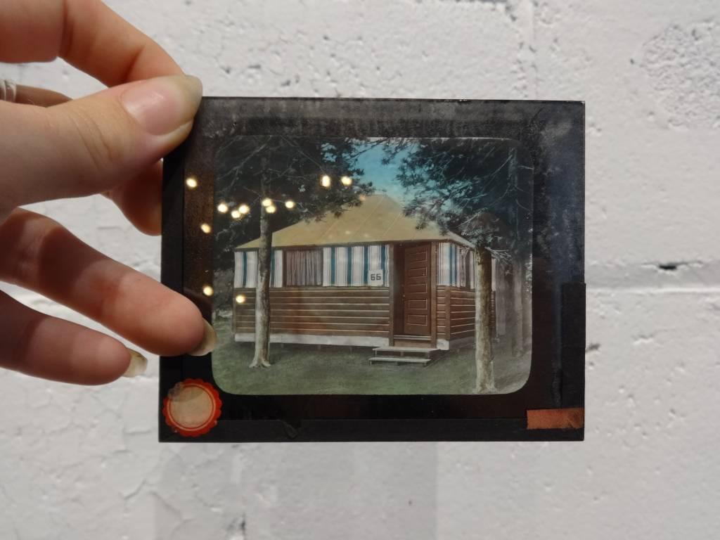 Vintage Photograph Glass Slides