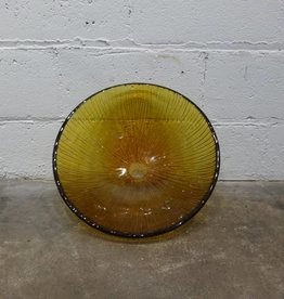Amber Glass Sink Basin