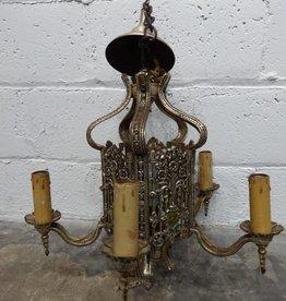 Golden Crest Chandelier