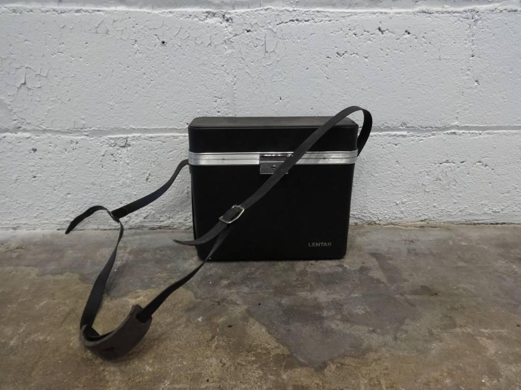 Vintage Lentar Black Camera Case
