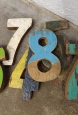 Teak Fishing Boat Number & Letter