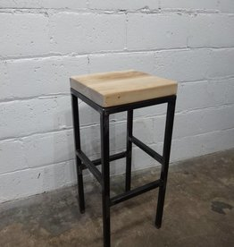 Backless industrial Bar Stool