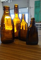 Small Amber Bottle