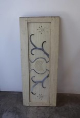 Teak Panel Wall Art Urn Design