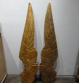 Giant Golden Angel Wings SET