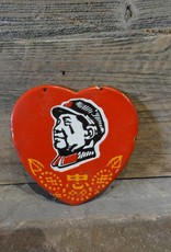 Mao Heart Medallion