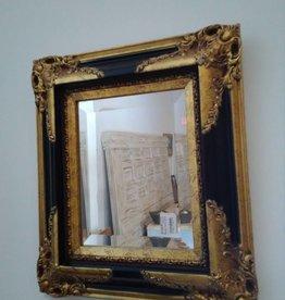 Ornate Gold & Black Frame Mirror