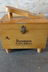 Vintage Ronson Roto - Shine Electric Shoe Polisher and Box