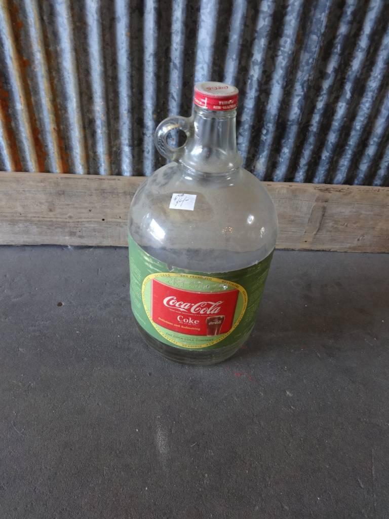 Vintage Coca Cola Jug Bottle