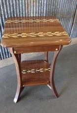 Handmade Walnut End Table