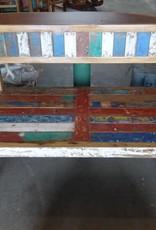 Teak Two Seat Bench