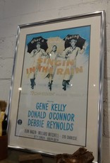 Framed & Matted Vintage Singin' In The Rain Poster