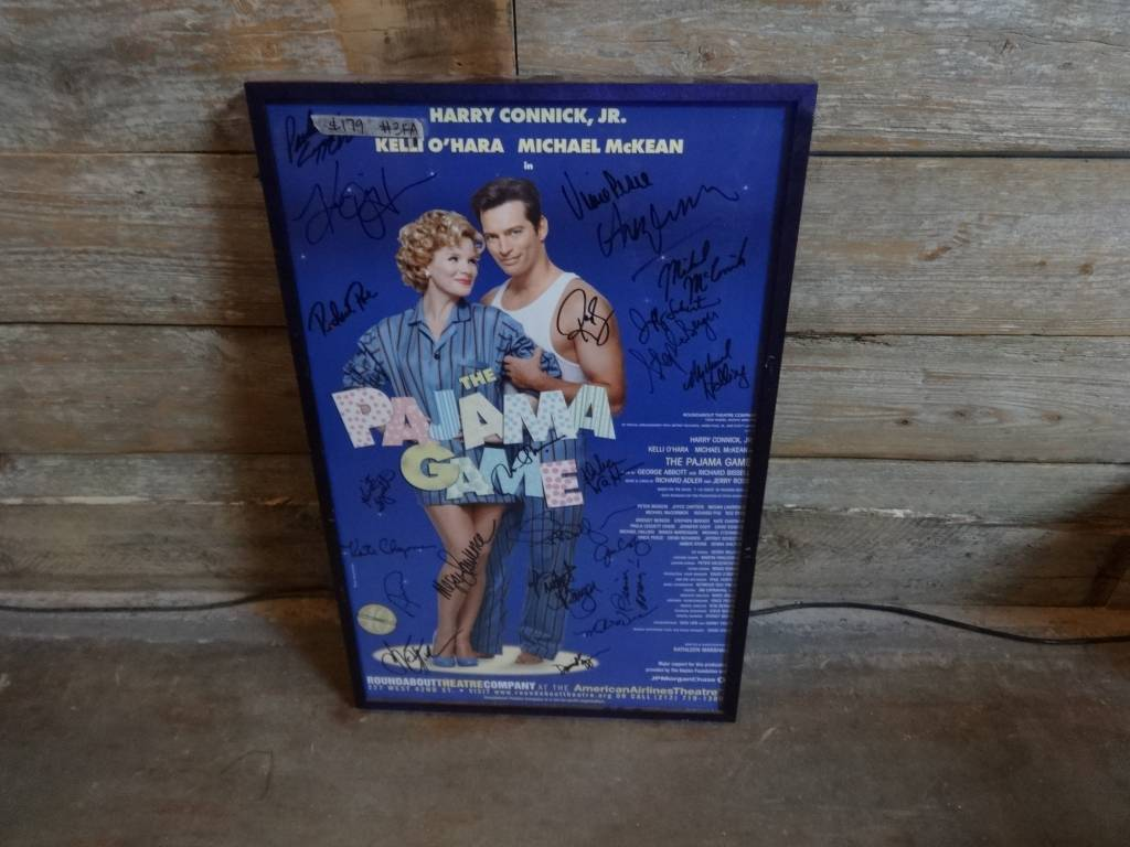 Signed The Pajama Game Poster