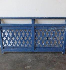 Blue Teak Fence Panel