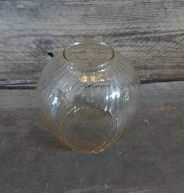 Clear Round Delicate Glass Vase
