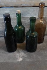 Vintage Glass Bottle MEDIUM