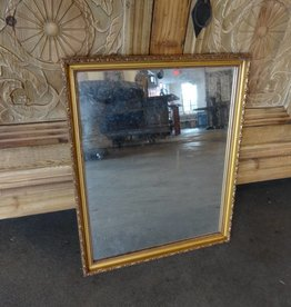 Simple Gold Framed Mirror
