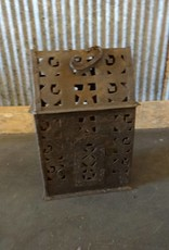 Hanging Metal House for Candle