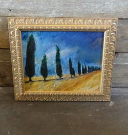 Original Framed Painting by Virginia Lindsay Brooks