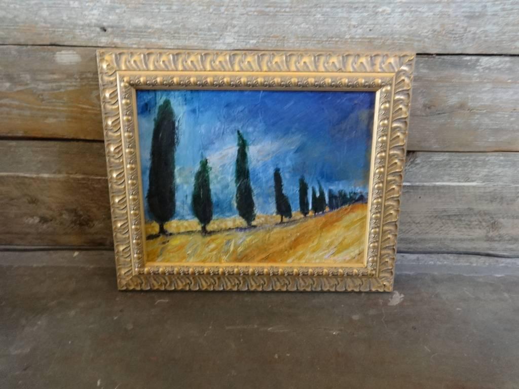 Original Framed Painting by Virginia Lindsay Brooks