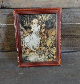 Framed Arthur Rackham Print Snow White