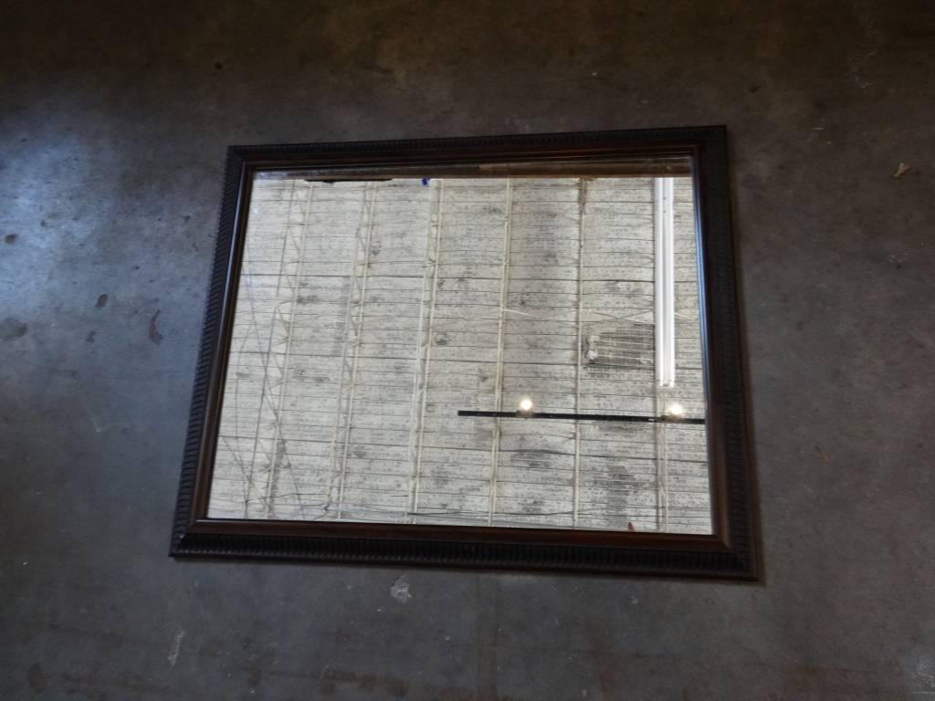 Mirror w Auburn Frame 19x23