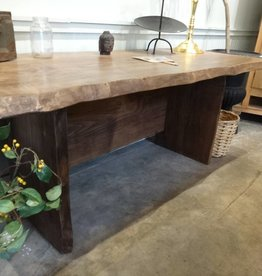 Live Edge Sycamore Desk